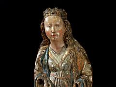 Detail images: Mutter Gottes auf dem Drachen