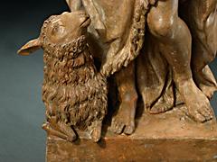 Detail images: Terracottafigur