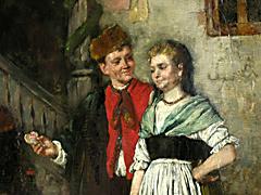 Detail images: Johann Sperl 1840 - 1914