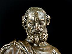 Detail images: Zwei Figuren des Hl. Petrus und des Hl. Paulus in der Art von Hubert Gerhard 1540 - 1620 und Carlo di Cesare del Palagio 1540 - 1598