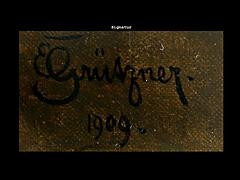 Detail images: Eduard von Grützner 1846 - 1925