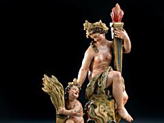 Detail images: Giuseppe Gricci, Neapel 18. Jhdt. zug.