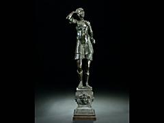 Männliche Statue