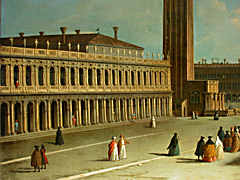Detail images: Giovanni Antonio Canal, Canaletto 1697 - 1768, Umkreis