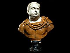 Detail images: Büste des Vitellius