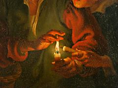 Detail images: Petrus van Schendel 1806 - 1870, in der Art von
