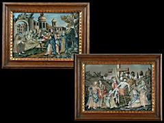 Detail images: Paar Spickelbilder