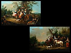 Detailabbildung: Johann Conrad Seekatz 1719-1768, zug.