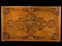 Detail images: Bedeutendes Louis XIV-Bureau-Mazarin, Thomas Hache zug.