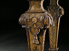 Detail images: Régence-Konsole