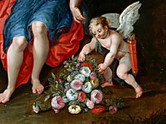 Detail images: Jan Brueghel der Ältere 1568 Brüssel - 1625 Antwerpen undHendrick von Balen 1575 - 1632 Antwerpen, zug.