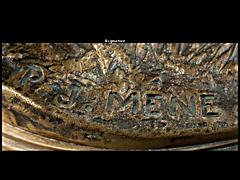 Detail images: Bronze von P. J. Meine
