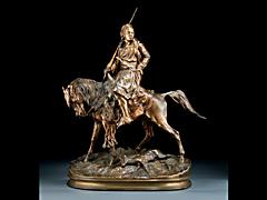 Bronze von P. J. Meine