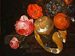 Detail images: Cornelis de Heem 1631 - 1695 oder Martin Nellius 1621 - 1706, zug.