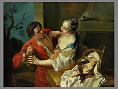 Detail images: Francois Boucher, 1703 - 1770, Umkreis