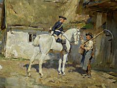 Detailabbildung: Wilhelm Velten 1847 - 1929 München
