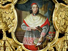 Detail images: PORTRÄT VON JOSEPH DOMINIKUS GRAF VON LAMBERG, FÜRSTBISCHOF VON PASSAU (1723 - 1761), ab 1737 Kardinal.