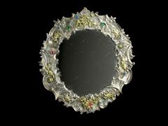 Feiner Silberrahmen mit Verspiegelung
