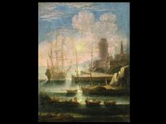 Orazio Greevenbroeck holländischer Maler des 17. Jhdts.