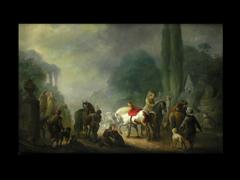 Holländischer Maler des 18. Jhdts.
