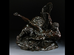 Herkules im Kampf mit dem Löwen