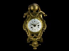 """KARTELLUHR Signiert: """"Boucher, horloger du Roi"""""""