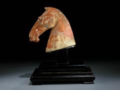 Pferdekopf der Han-Dynastie
