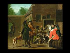 Josef Horemans d.Ä. 1682 - 1759 Antwerpen, zug.