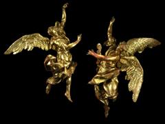 Detailabbildung: Paar überlebensgroße Engel