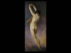 John W. Godward, nach dem Gemälde  von W.A. Bouguereau, 1825 - 1905