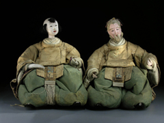 Japanische Puppen