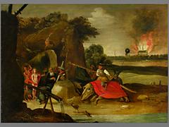 A. v. Bastroy, Niederländischer Maler des 16. / 17. Jahrhunderts