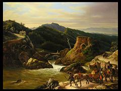 C. Mossini, Maler des 19. Jahrhunderts