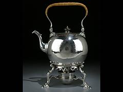 Teekessel mit Rechaud