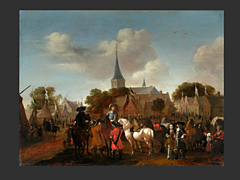 Pieter Wouwerman, 1623 - 1692
