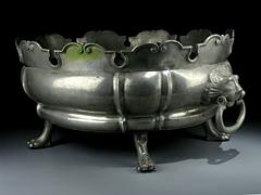 Zinn-Weinkühler