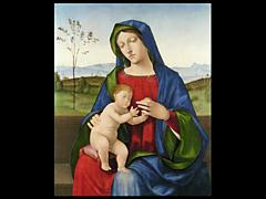 Detailabbildung:  Bartolomäo Montagna, 1450 - 1523, zugeschrieben