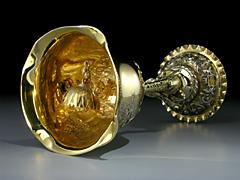 Seltener Historismus-Pokal
