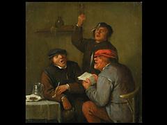 Adrian Brouwer, <br />1605 - 1638, in der Art von