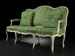 Signiertes Louis XV-Sofa