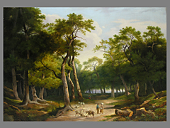 D. Calame, Maler des 18./19. Jahrhunderts