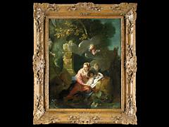 Detailabbildung:  Jean Babtiste Oudry, 1686 Paris - 1755 Beauvais
