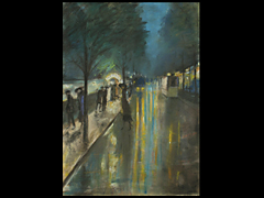 Detail images:  Lesser Ury, 1861 - 1931