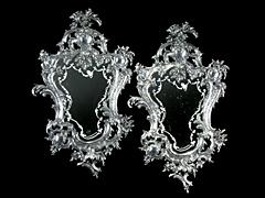 Paar Dekorative Spiegel Hampel Fine Art Auctions