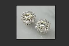 Diamant-Ohrringe
