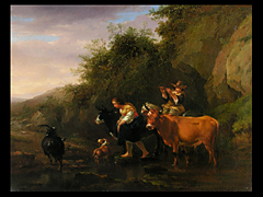 Maler des 19. Jahrhunderts, in der Art von Berchem