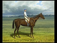 Russischer Pferde-Maler des 19. Jahrhunderts