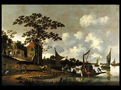 Salomon van Ruysdael, 1602 - 1670, in der Art von