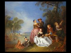 Jean-Baptiste Joseph Pater 1695 - 1736 Paris