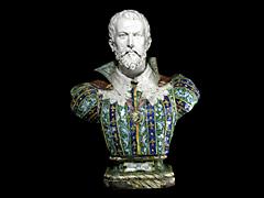 Majolikabüste des Francesco Gonzaga 1500-1540